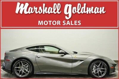 2017 Ferrari F12 Berlinetta  2017 Ferrari F12 Berlinetta in Grigio Ferro with Sabbia leather 970 miles