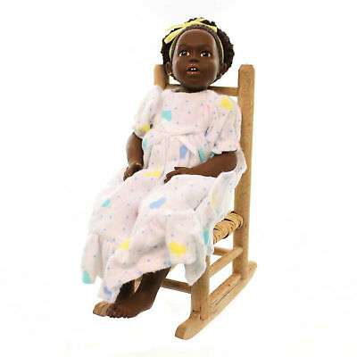 All Gods Children ANIKA III Polyresin African American Black Doll 2602
