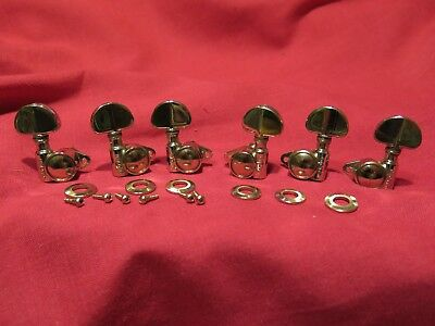 vintage NOS 1969 usa Grover NICKEL tuners for gibson Les Paul es 335 SG L martin