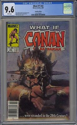 What If? #43 CGC 9.6 NM+ Wp 1984 Conan the Barbarian Canadian Price Variant Gem