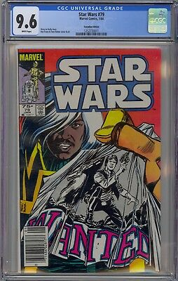 Star Wars #79 CGC 9.6 NM+ Wp Canadian Price Variant 9.6 3 on CENSUS None Higher