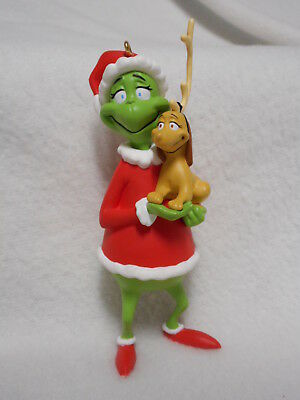 Hallmark Keepsake The Grinch and Max 1998 Christmas Ornament