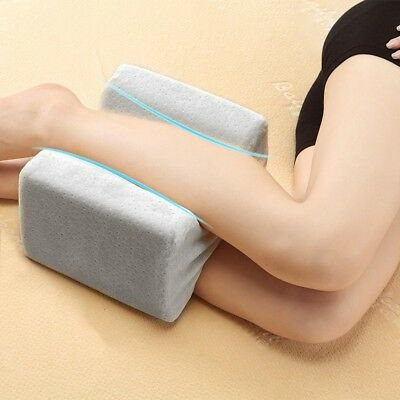Contour Memory Foam Soft Pillow Orthopaedics Leg Hips Back Knee Support+Cover
