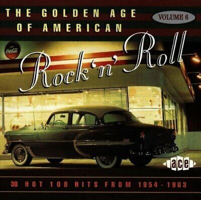 Various Artists - The Golden Age of American Rock '... - Various Artists CD KJVG