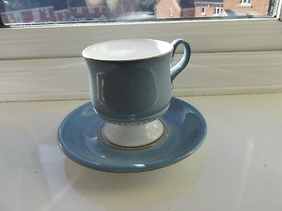 Denby Castile Coffee Cup & Saucer