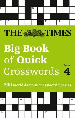 TIMES BIG BOOK OF QUICK CROSSWORDS 4, The Times Mind Games, 97800...