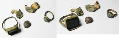 ZURQIEH -as3270- LOT OF ANCIENT RINGS, MOSTLY BRONZE. ROMAN - ISLAMIC