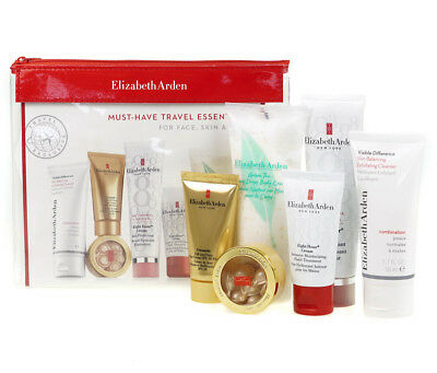 Elizabeth Arden 8 Hour Must Have Travel Set Essentials For Face Hand & Body