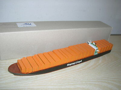 CMKR MODELL - Container Schiff COLOMBO HAPAG LLOYD Schiff Schiffsmodell 1:1250