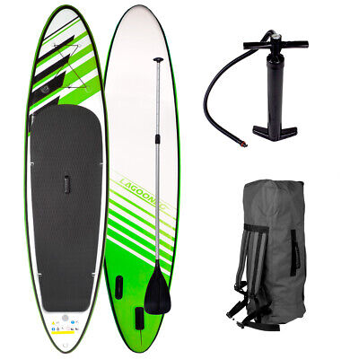 SUP Board Stand Up Paddle Surf-Board aufblasbar inkl. Paddel ISUP Paddling 365cm
