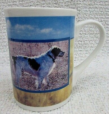 Brittany Pointer Bird Hunting Dog Photo Cedar Key Porcelain Coffee Mug FREE S/H