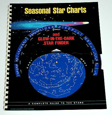Seasonal Star Charts and Glow-in-the- Dark Finder: A Complete Guide to the Stars