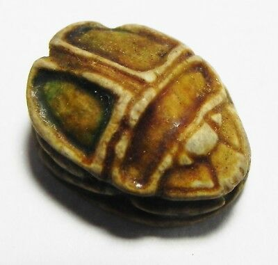 ZURQIEH - as3459- ANCIENT EGYPT. STONE SCARAB . NEW KINGDOM. 1400 B.C