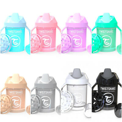 Twistshake Twist Shake Mini Cup Bottle Beaker Spill free Spout 230ml 8oz 4M+