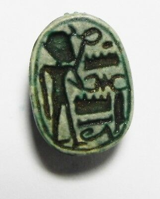 ZURQIEH - as3480- ANCIENT EGYPT. STONE SCARAB . NEW KINGDOM. 1400 B.C