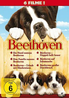6 DVD-Box ° Beethoven Collection ° Filme 1 + 2 + 3 + 4 + 5 + 6 ° NEU & OVP