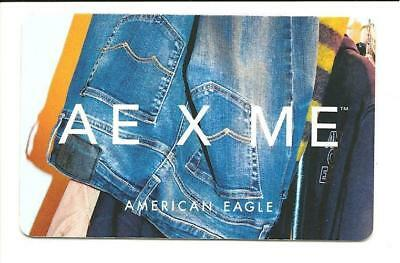 American Eagle Gift Card No $ Value Collectible Jeans AE X ME