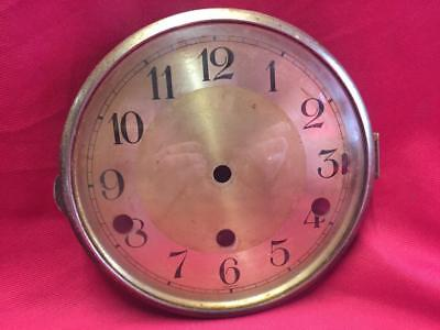 Vintage Mantle Clock Glass Door & Clock Face