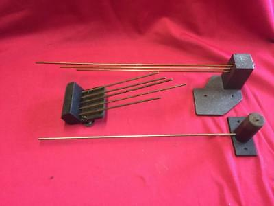 Lot Of Vintage Chimes / Gongs For Wall Clocks For Spares Or Repair