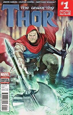 Unworthy Thor #1 (NM) `17 Aaron/ Coipel