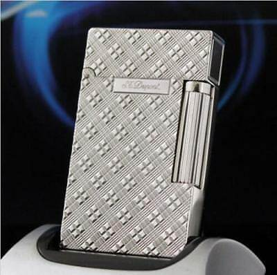 NEW S.T Memorial Silver color brushed lighter Bright Sound ! free shipping 69#
