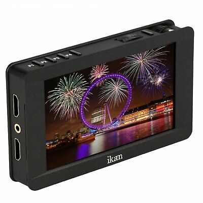 """NEW Ikan 5"""" 4K Support HDMI On-Camera Field Monitor with Touch Screen, DH5e"""