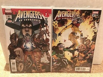 Avengers #681 SET - Cover A & Bradshaw 1:25 Connecting Variant - Marvel - NM