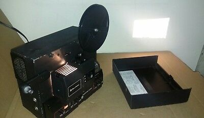 Bell & Howell Filmosonic 600-PS Vintage Movie Projector Super 8 Sound Recording