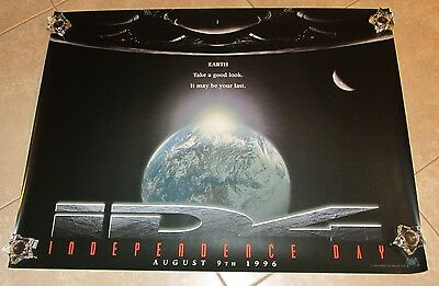 Independence Day movie poster  - 30 x 40 inches - ID4 original advance Poster