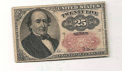 25 Cent Fractional Currency Fifth Issue FR 1308