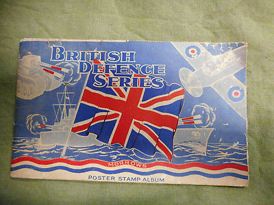 #D360. 1925-40 MORROWS (BRISBANE)  BRITISH DEFENCE POSTER STAMP ALBUM,105 of 112