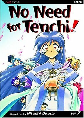 No Need for Tenchi: Volume 7 by Okuda, Hitoshi Book The Cheap Fast Free Post