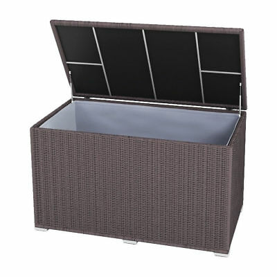 gartenbox rockwood 570 liter auflagenbox kissenbox gartentruhe kissentruhe eur 169 00. Black Bedroom Furniture Sets. Home Design Ideas