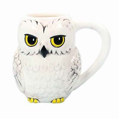 Official Harry Potter 3D Hedwig The Owl Coffee Mug Cup New In Gift Box