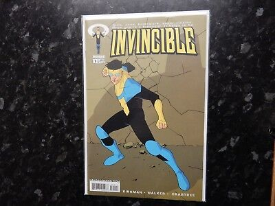 Invincible #1 1st first print Image comics Kirkman