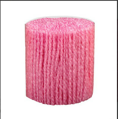 "Latch Hook Yarn - Fuchsia Approx 400 strands 3ply 2.5"" long Use on 4.5hpi canvas"