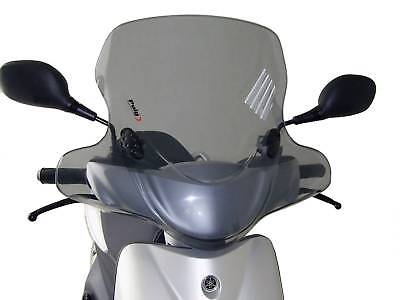 Windschild Puig City Touring smoke für Yamaha Neos 50 (09-)