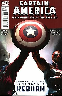 Captain America: Who Won't Wield The Shield ? One-Shot Comic 1 Marvel 2010 Aaron