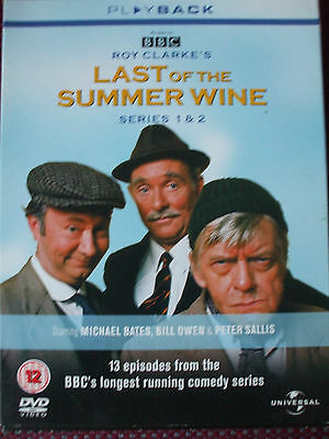 Last Of The Summer Wine DVD - Series 1-2 - Complete. 4-Disc Set.13 Episodes.
