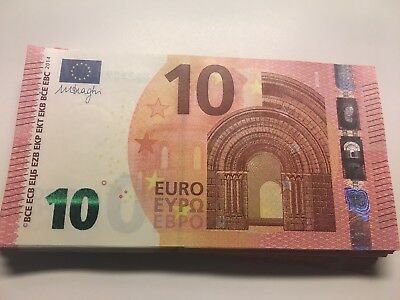10 EURO banknote EUROPE PAPER BANK REAL MONEY UNC condition