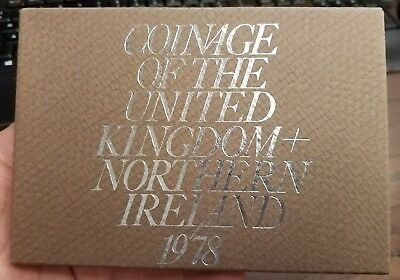 1978 UK 6 Coin Proof Set