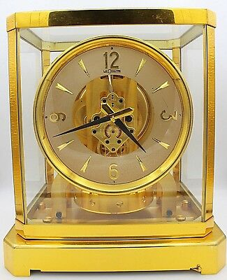 Vintage Le Coultre Atmos Works Great Keeps Accurate Time Serial # 54512