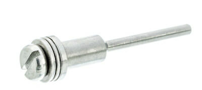 "New 2"" Stainless Steel Big Head Hippie Mandrel 1/4"" Arbor 1/8"" Shank #2814MD-SS"