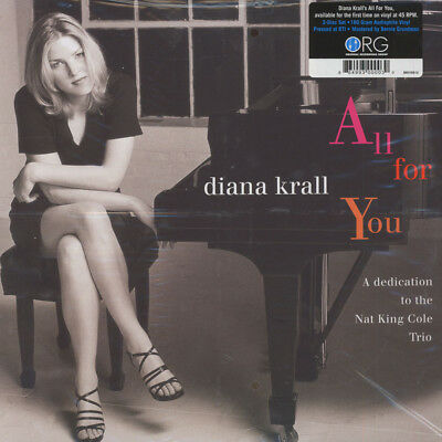 Diana Krall - All For You (A Dedication to The (Vinyl 2LP - 1997 - US - Reissue)