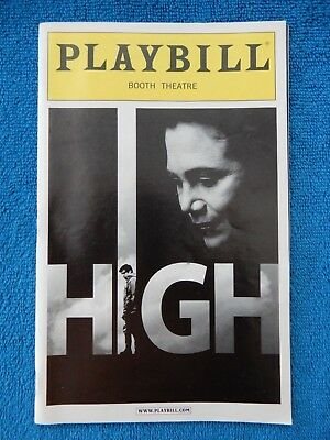 High - Booth Theatre Playbill w/Ticket - April 8th, 2011 - Kathleen Turner