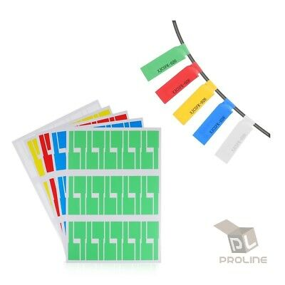 Self-adhesive Cable Wire Labels Identification Markers Tags Sticker