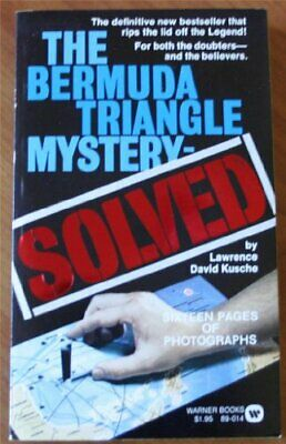 THE BERMUDA TRIANGLE-SOLVED by lawrence David Kusche Book The Cheap Fast Free