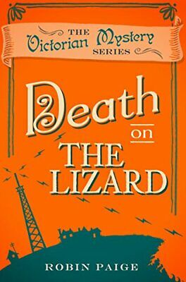 Death on the Lizard (Death at) by Robin Paige Book The Cheap Fast Free Post