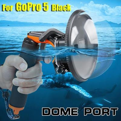 Diving Underwater Camera Cover Lens Hood Dome Port for Gopro Hero 5 DBUS