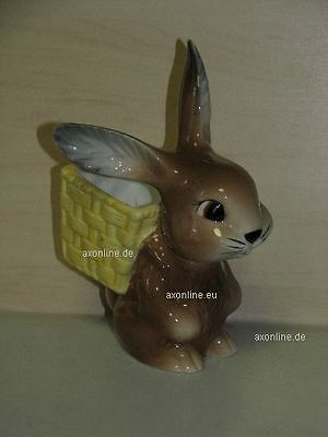 +# A006617_15 Goebel Archiv Malmuster Ostern Easter Hase mit Korb Bunny 57-300